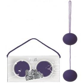Venušiny kuličky FUNKY LOVE BALLS purple