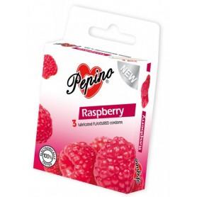 Kondom Pepino Raspberry 3 ks