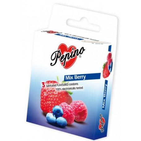 Kondom Pepino MIX BERRY 3 ks