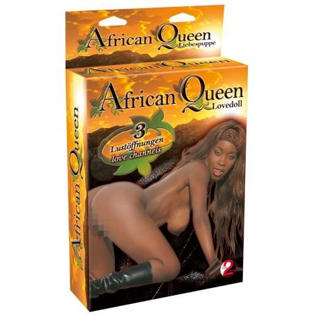 Panna nafukovací LULU AFRICKÁ KRÁLOVNA