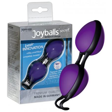 Venušiny kuličky JOYBALLS SECRET purple&black   JoyDivision