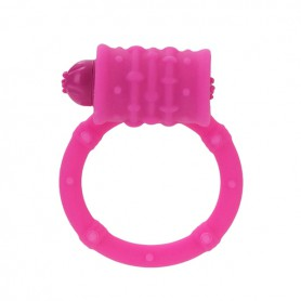 Kroužek na penis POSH vibrační pink