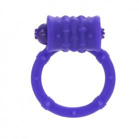 Kroužek na penis POSH vibrační purple