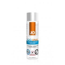 Lubrikační gel JO ANAL H2O WARMING 120 ml