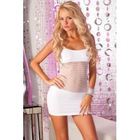 Šaty ADRENALINE SEAMLESS white