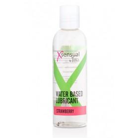 Lubrikační gel XSENSUAL STRAWBERRY 100 ml