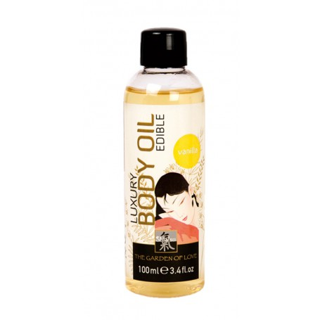 Tělový olej SHIATSU LUXURY VANILLA