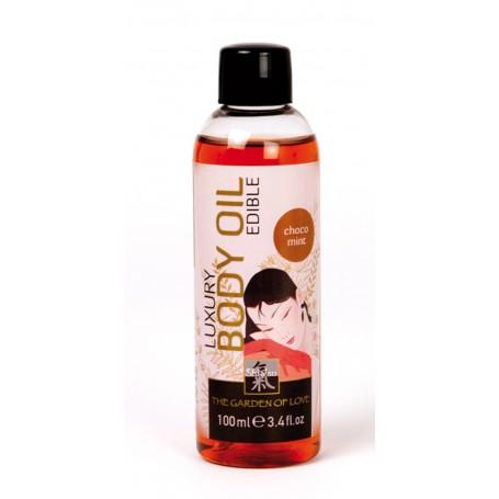 Tělový olej SHIATSU LUXURY CHOCOLATE MINT