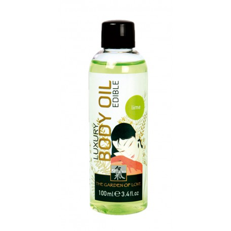 Tělový olej SHIATSU LUXURY LIME