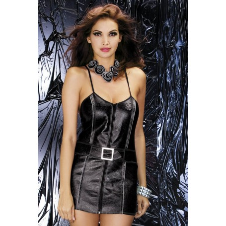 Sexy kostým BIKER DRESS S/M