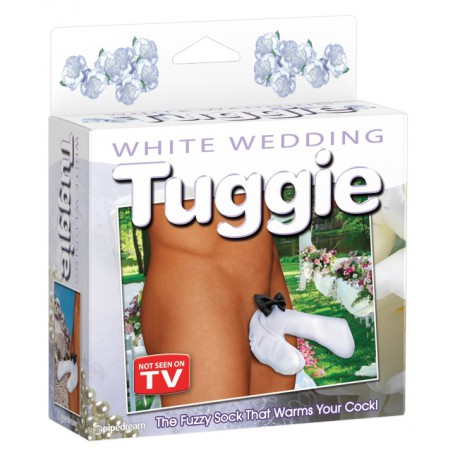 Tanga pánská WHITE WEDDING TUGGIE | Pipedream