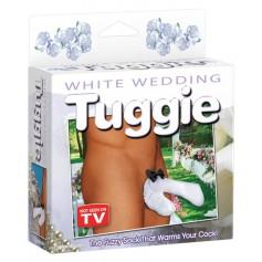 Tanga pánská WHITE WEDDING TUGGIE