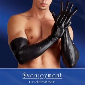 Rukavice WETLOOK pro muže černé M/XL