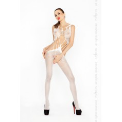 Catsuit PASSION BS030 bílý S-L