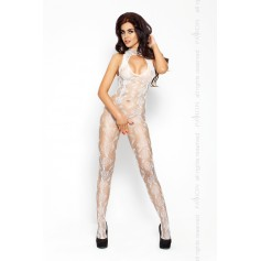 Catsuit PASSION BS009 bílý S-L