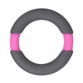 Kroužek na penis NEON STIMU 37 grey pink