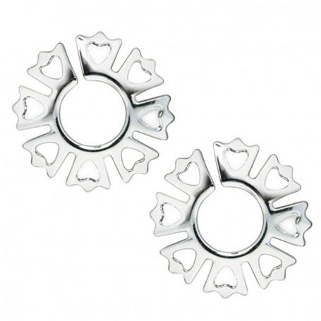 Intimní šperk na bradavky NIPPLE CLIPS silver