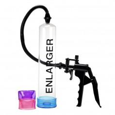 XXL vakuová pumpa X FACTOR ENLARGER se 3 manžetami