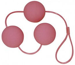 Venušiny kuličky VELVET PINK BALLS