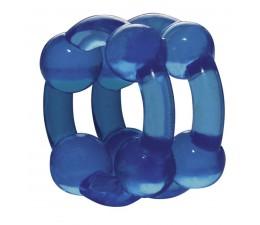 Erekční kroužek na penis STRONGHOLD modrý