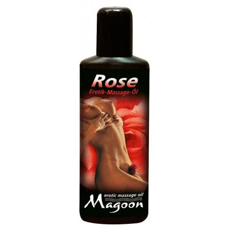 Masážní olej ROSE s vůní růží 100 ml | Magoon