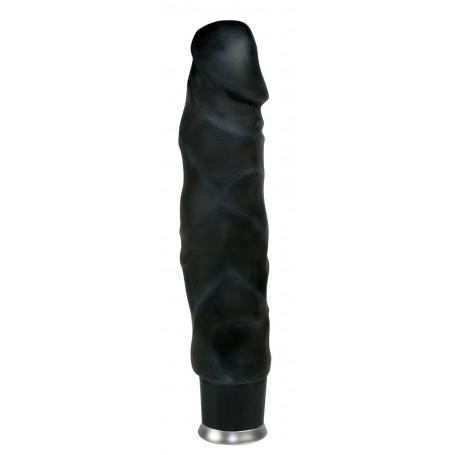 Vibrátor BIG VIBE černý nature skin