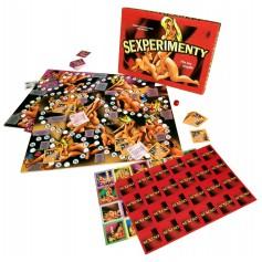 Desková erotická hra SEXPERIMENTY