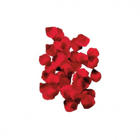 Lístky RUDÝCH růží 150 ks