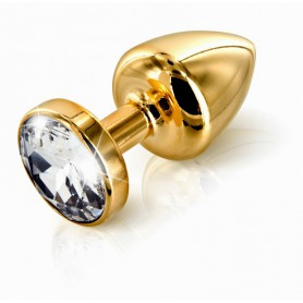 Kolík anální ANNI by Diogol T1 zlatý