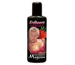 Masážní olej ERDBEERE s vůní jahod 100 ml