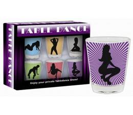 Štamprle TABLE DANCE 6 ks