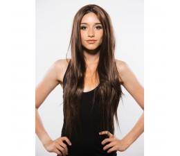 Paruka LOFTY Style your hair TMAVĚ HNĚDÁ