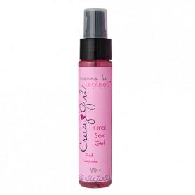 Gel CRAZY GIRL ORAL SEX gel pink Cupcake 59 ml