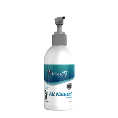 Masážní olej SAFE All Natural 200 ml | Safe
