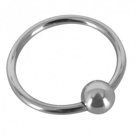 Kroužek na penis Sextreme GLANS RING with BALL