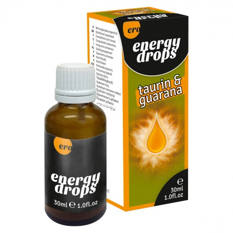 Kapky ERO ENERGY DROPS TAURIN GUARANA 30 ml | Ero