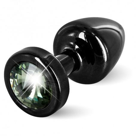 Kolík anální ANNI Diamond black/black | Diogol