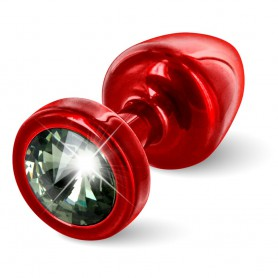 Kolík anální ANNI Diamond red/black