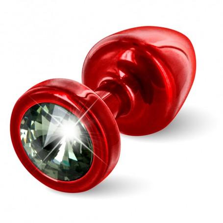 Kolík anální ANNI Diamond red/black | Diogol