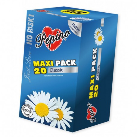 Kondom Pepino Classic MAXI Pack 20 ks | Pepino