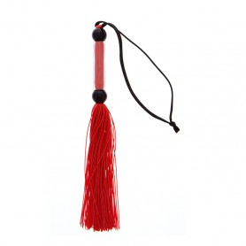 Důtky GP SILICONE FLOGGER WHIP red