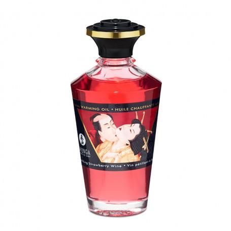 Tělový olej SHUNGA APHRODISIAC SPARKLING STRAWBERRY WINE 100 ml