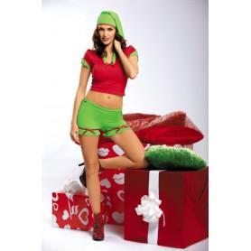 Kostým vánoční ELF S/M