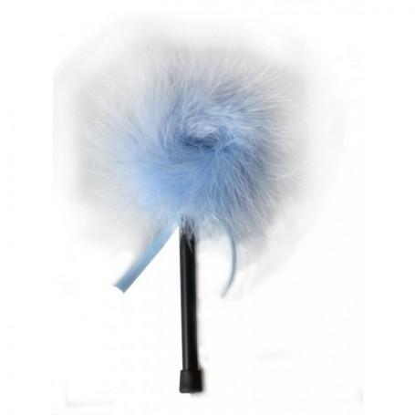 Dráždidlo péřové MALÉ blue marabou