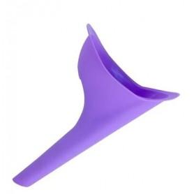 Trychtýř na močení fialový