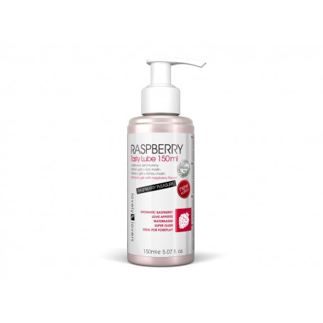 Lubrikační gel RASPBERRY Tasty Lube 150 ml