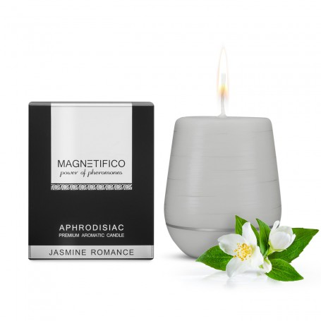 Magnetifico Aphrodisiac Candle JASMINE ROMANCE | Valavani