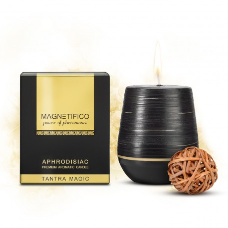 Magnetifico Aphrodisiac Candle TANTRA MAGIC | Valavani