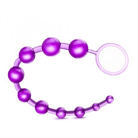 Korále anální BLUSH B YOURS BASIC BEADS purple