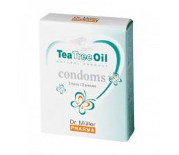 Kondomy Dr. Müller TEA TREE OIL 3 ks